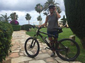 Zypern ich mit Mountainbike