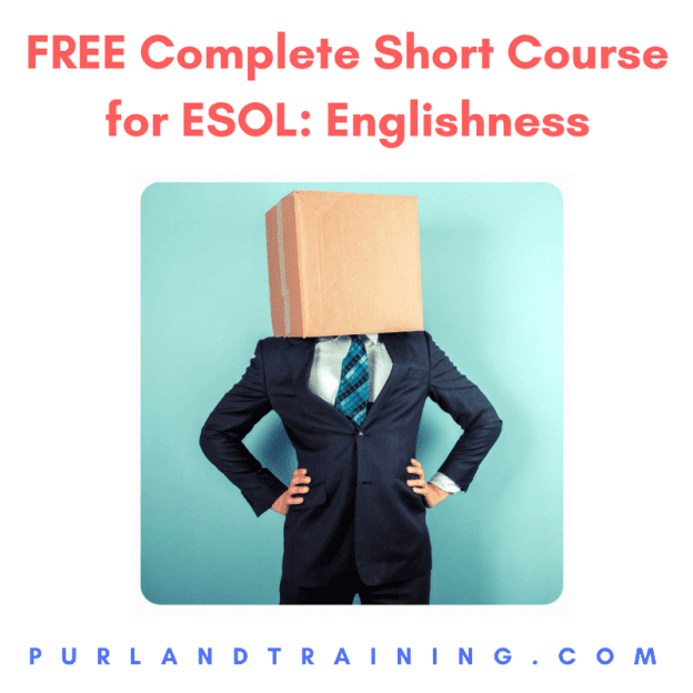 FREE Complete Short Course for ESOL: Englishness