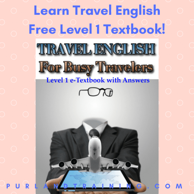 Download this FREE eBook Today: Travel English for Busy Travelers