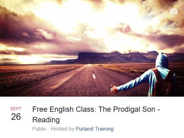 FREE English Class and Worksheets - The Prodigal Son