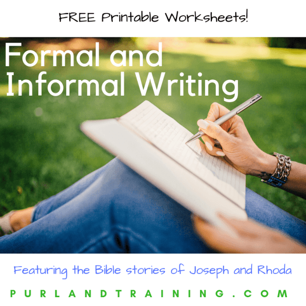 Understanding Formal and Informal Writing in English
