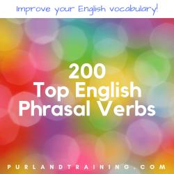 200 Top English Phrasal Verbs