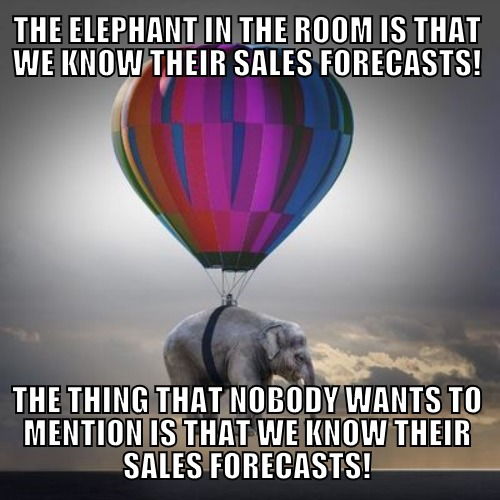 The elephant in the room = The uncomfortable truth that nobody wants to acknowledge