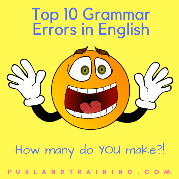Top 10 Grammar Errors