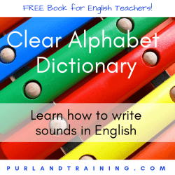 FREE ELT BOOK Clear Alphabet Dictionary - by Matt Purland