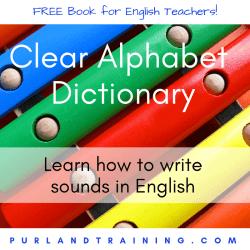 FREE ELT BOOK Clear Alphabet Dictionary - by Matt Purland