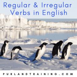 Regular and Irregular Verbs in English