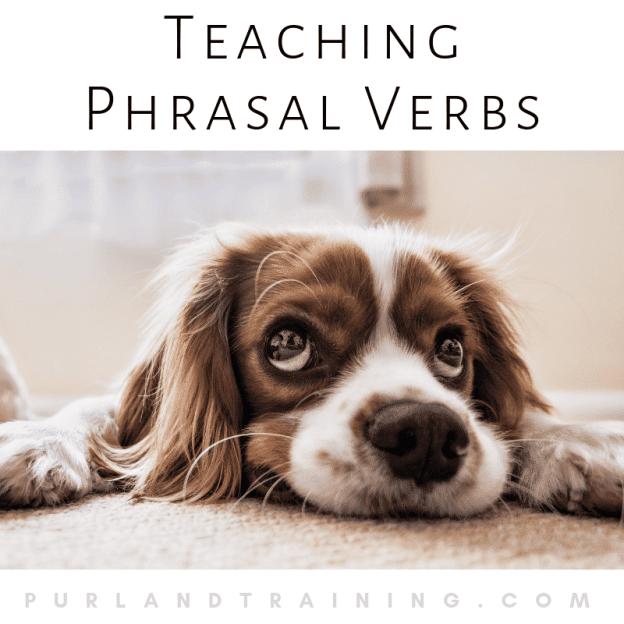 Teaching Phrasal Verbs