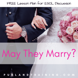 May They Marry? FREE ESOL Lesson Plan