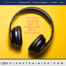 Practice Listening Skills in English with Micro Dictations
