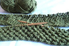 Succulent Infinity Scarf