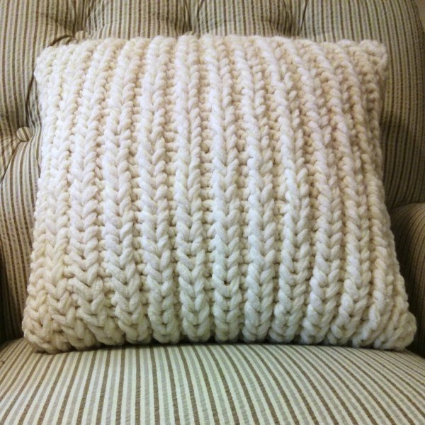 Fisherman's Rib Accent Pillow 2