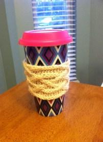 Celtic Plait Coffee Cup Sleeve by KathleenBlass