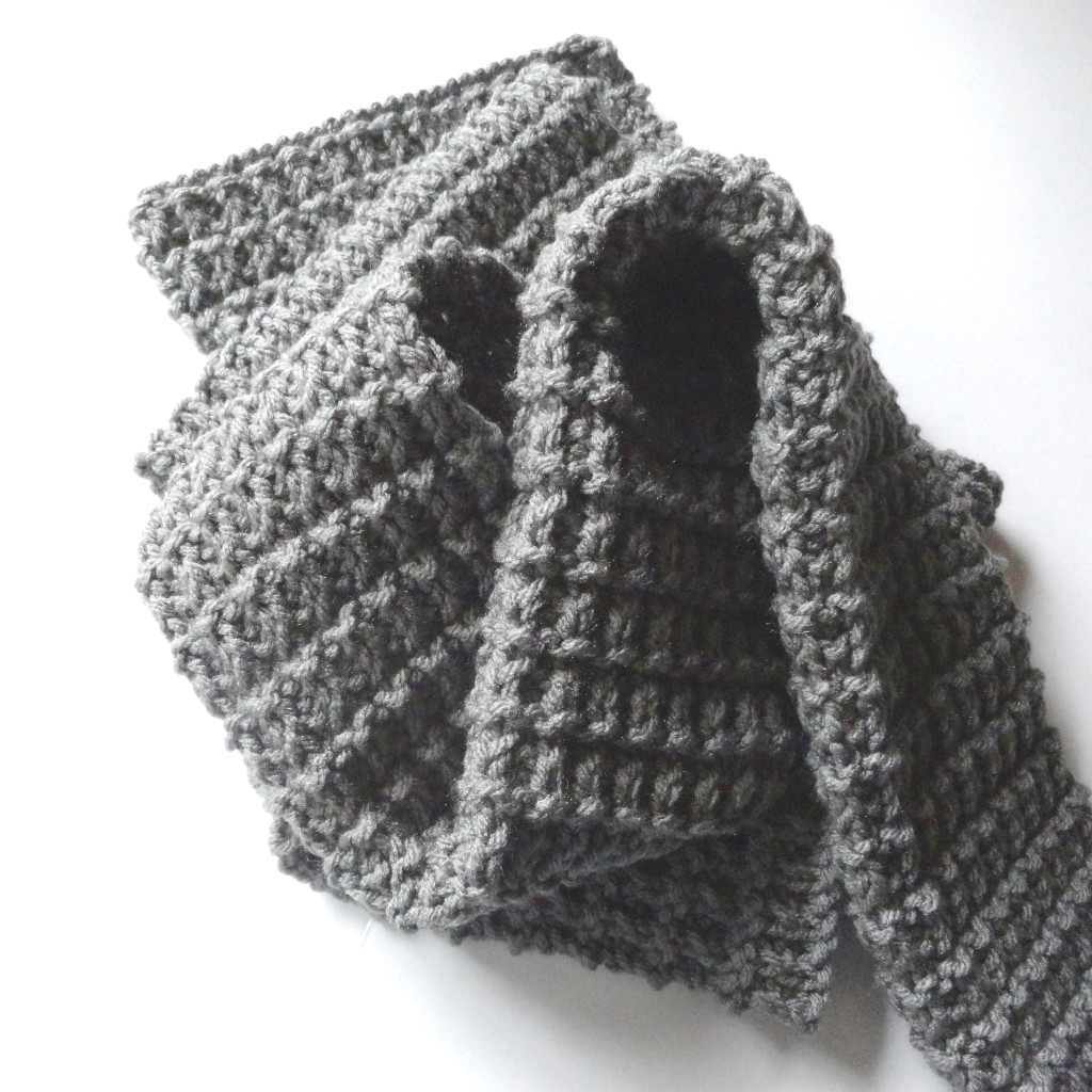 Ridge Rib Men Scarf