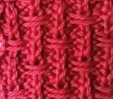 Broken Rib Slip Stitch