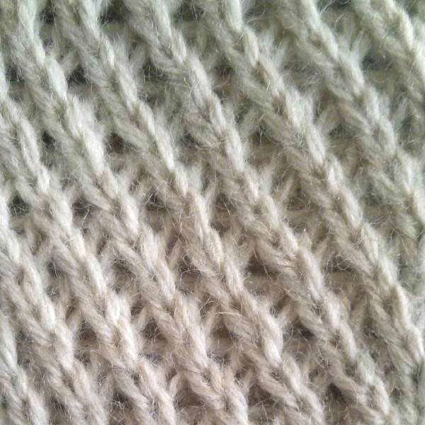 left twist stitch