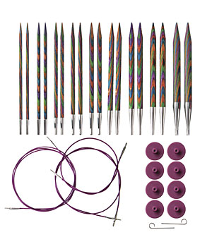 Knit Picks Rainbow Interchangeable Needles