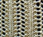 Elaborate Vertical Lace Stitch