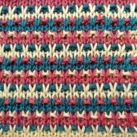 Speckled Slip Stitch II