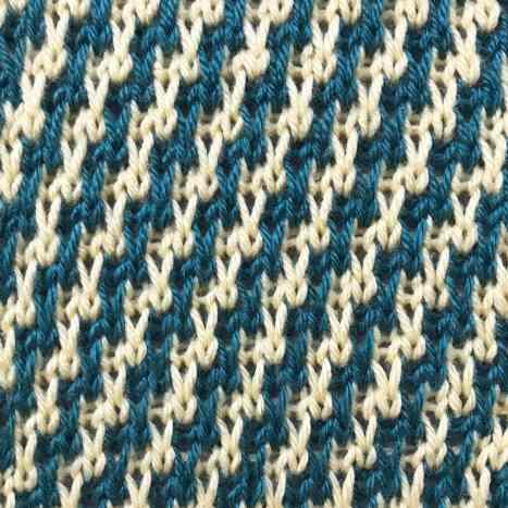 Diagonal Stripes Stitch