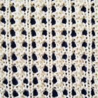 Textured Lace Columns knit stitch
