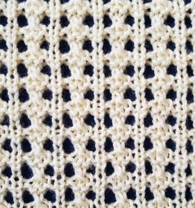 Textured Lace Columns