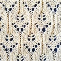 Chandelier Lace Knit Stitch