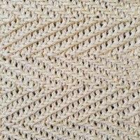 Woven Herringbone Knit Stitch