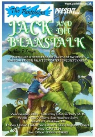 Jack and the Beanstalk - The Pantoloons 2014