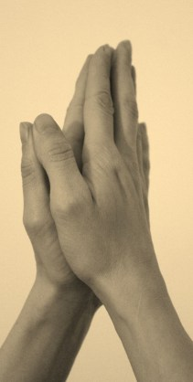 Hands in Prayer