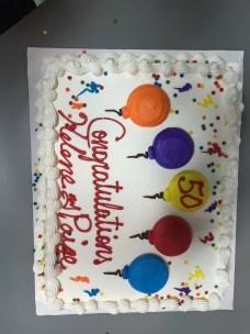 our celebration cake
