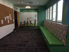Lovely mural at HPL
