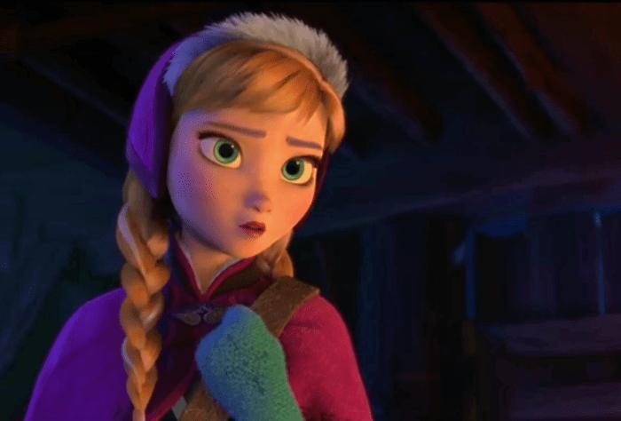 Disney Frozen Anna's Snowflake Mittens