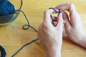 Step 4: Learn to Knit, Practice Knitting Tension