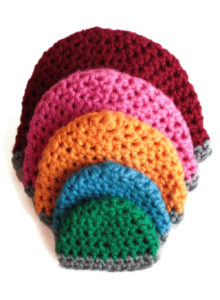 chunky beanie hat and crochet pattern