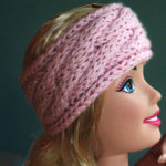 Cable Knit Headband by PurlsAndPixels