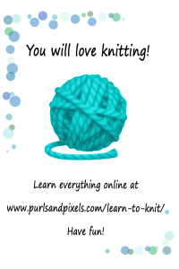 Knitting Gift Set DIY guide & printable gift card from Liz @PurlsAndPixels