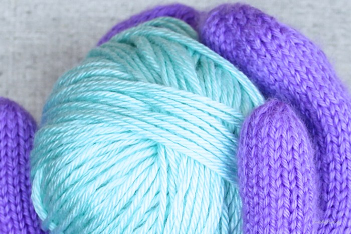 Find out how much leftover yarn you have with a little yarn math, guide from PurlsAndPixels