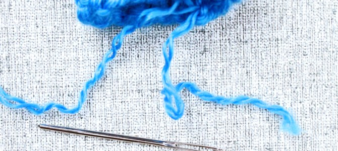 How to Tie Off & Weave in Loose Yarn Ends