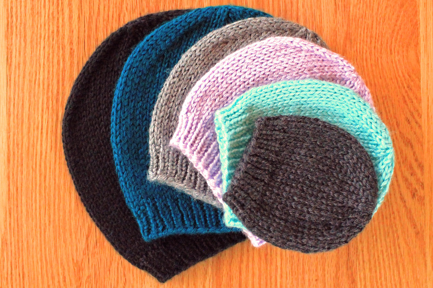 Simple Beanie Hat Knitting Pattern Purlsandpixels