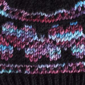 Heart hat knitting pattern from Liz @PurlsAndPixels