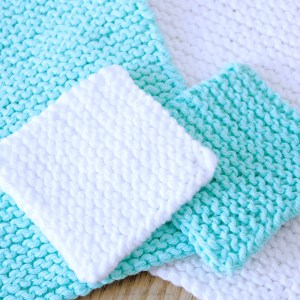 Beginner Face Scrubby Free Knitting Pattern