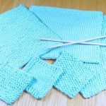 Simple Washcloth Knitting Pattern Collection from Liz @PurlsAndPixels