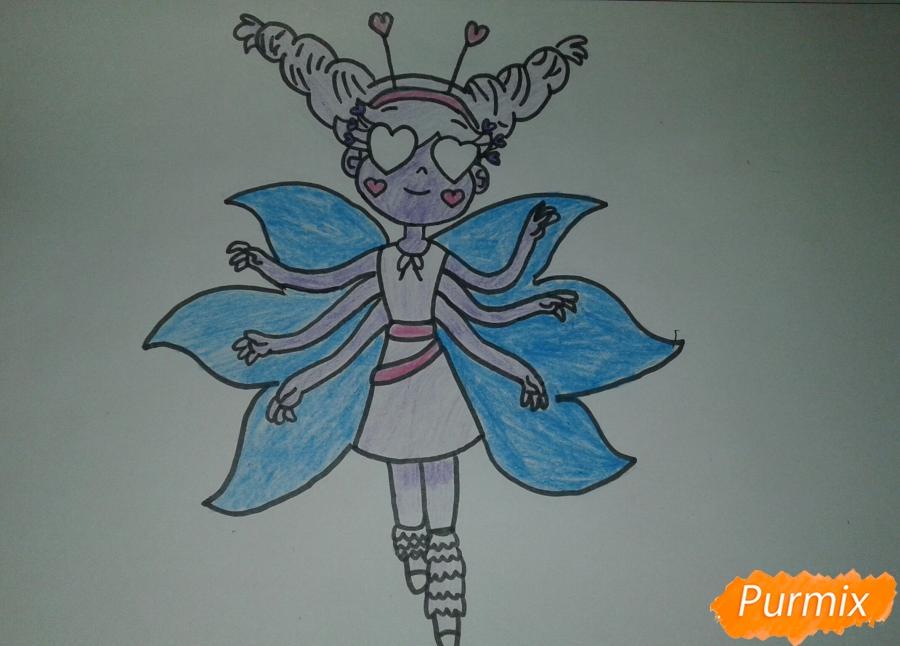 звездная принцесса раскраска распечатать как нарисовать