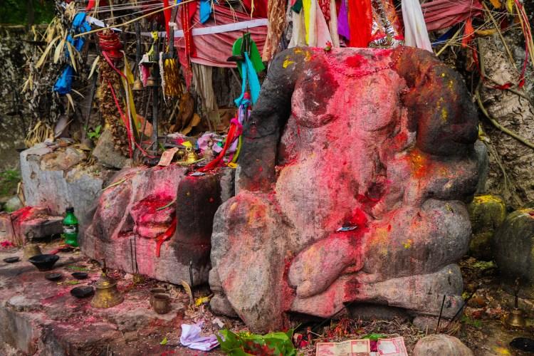 अहम् काली देवी मुर्ती
