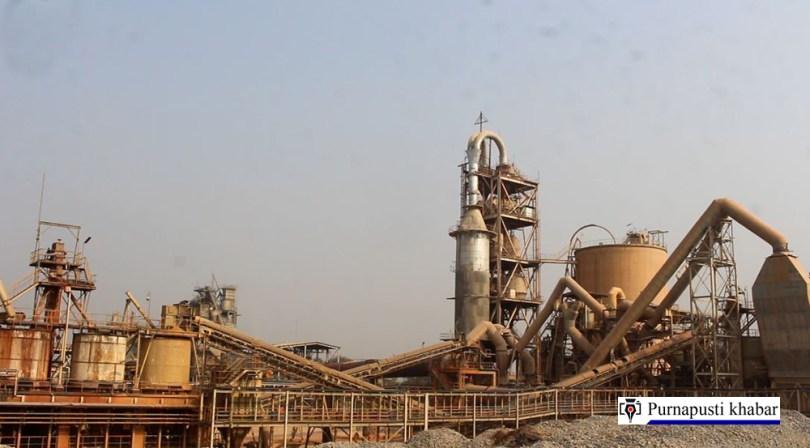 एसियाकै उत्कृष्ट सिमेन्ट उत्पादन वृद्धिमा अघि बढदै उदयपुर सिमेन्ट उधोग, हुदैछन् सुधारका कामहरु