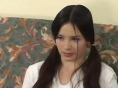 Natasha Joven Inocente Follando Por El Culo Con Dos