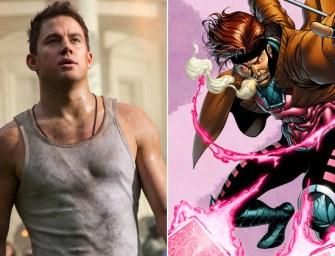 Channing Tatum é confirmado como Gambit em algum filme dos X-Men