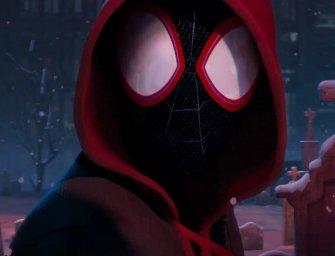 Miles Morales é a estrela no trailer do filme animado do Homem-Aranha