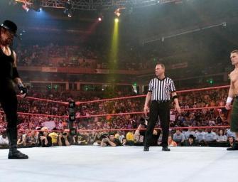 John Cena pode lutar contra o Undertaker no Wrestlemania 34
